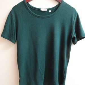 Aritzia Wilfred green t shirt M